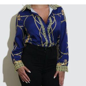 Tops - New Royalty Blue Shirt